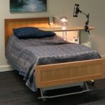 adjustable bed with head board