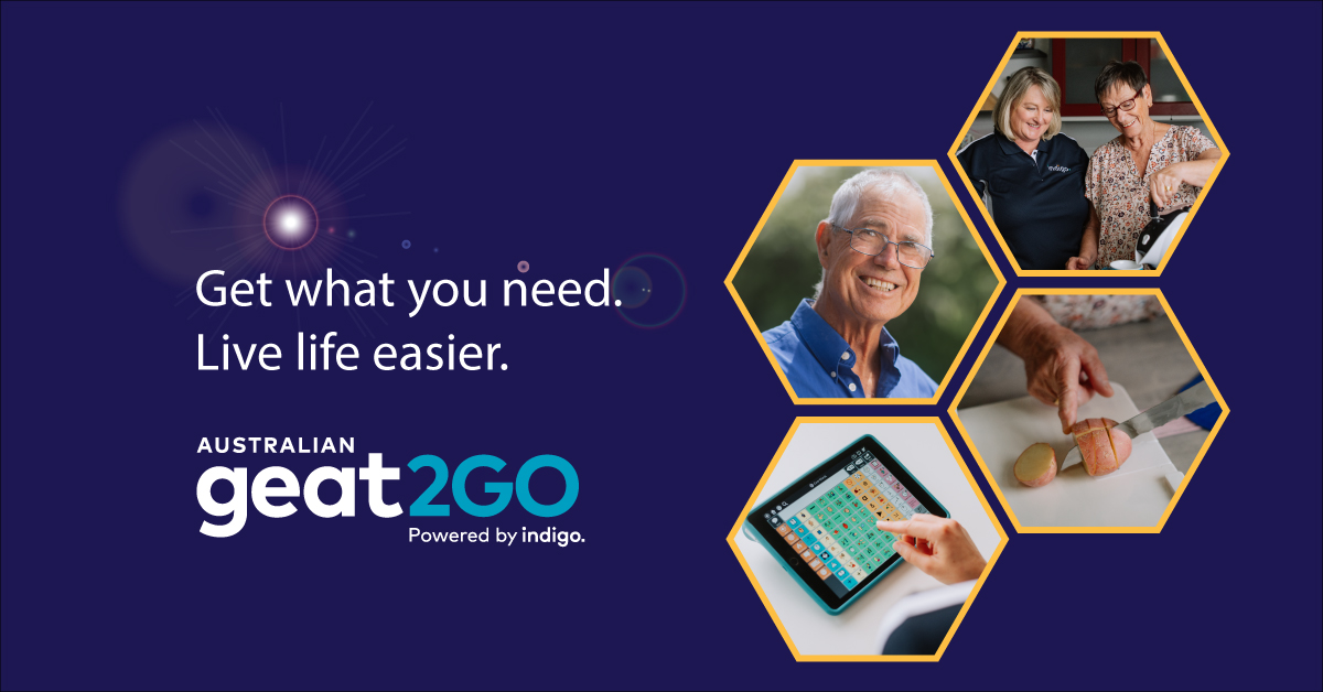 geat2Go banner with images and text: get what you need. Live life easier