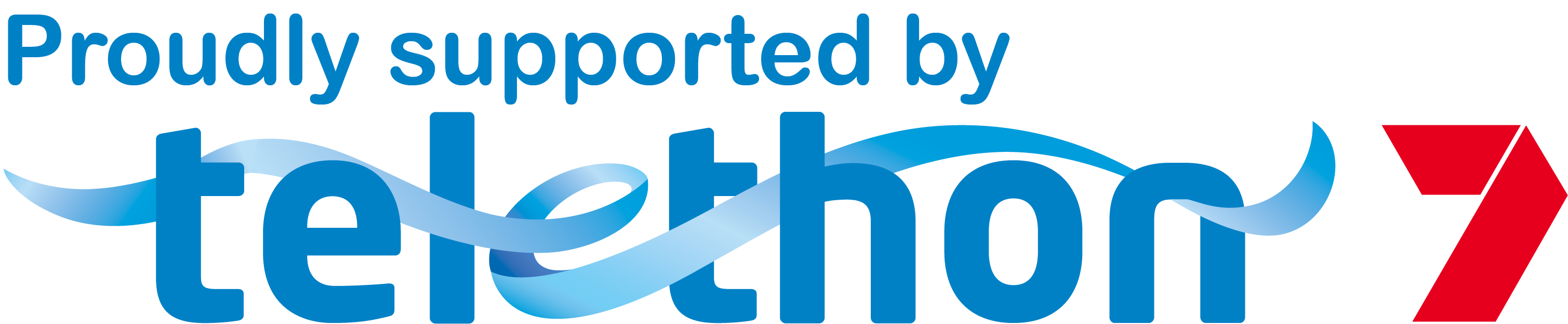 Proudly Supported by Telethon logo
