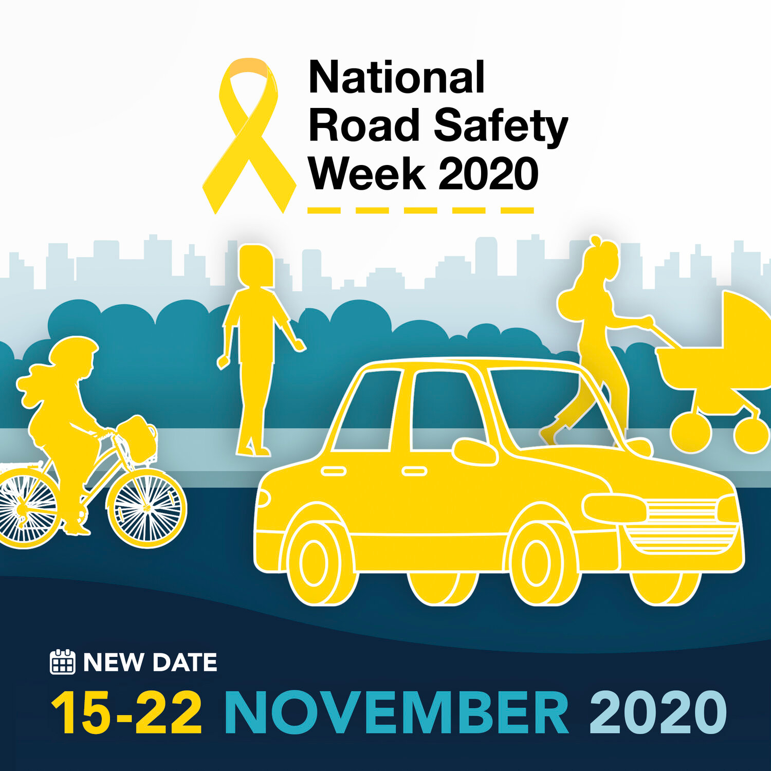 National Road safety Week graphic